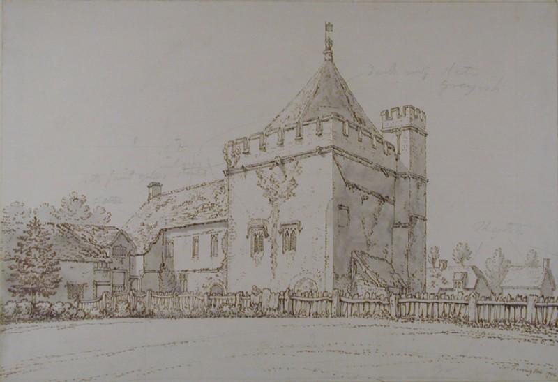 Exterior View of the Kitchen at Stanton Harcourt, Oxfordshire (WA1942.172, record shot)
