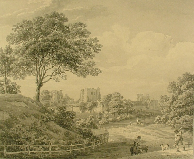 Distant View of Kenilworth Castle