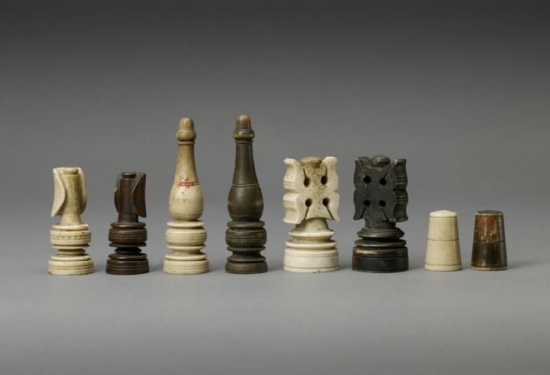 Chess piece, King (WA1947.191.229.5, record shot)