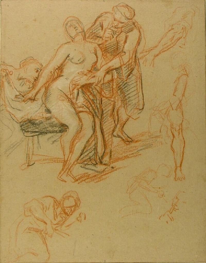 Studies for Susanna and the Elders