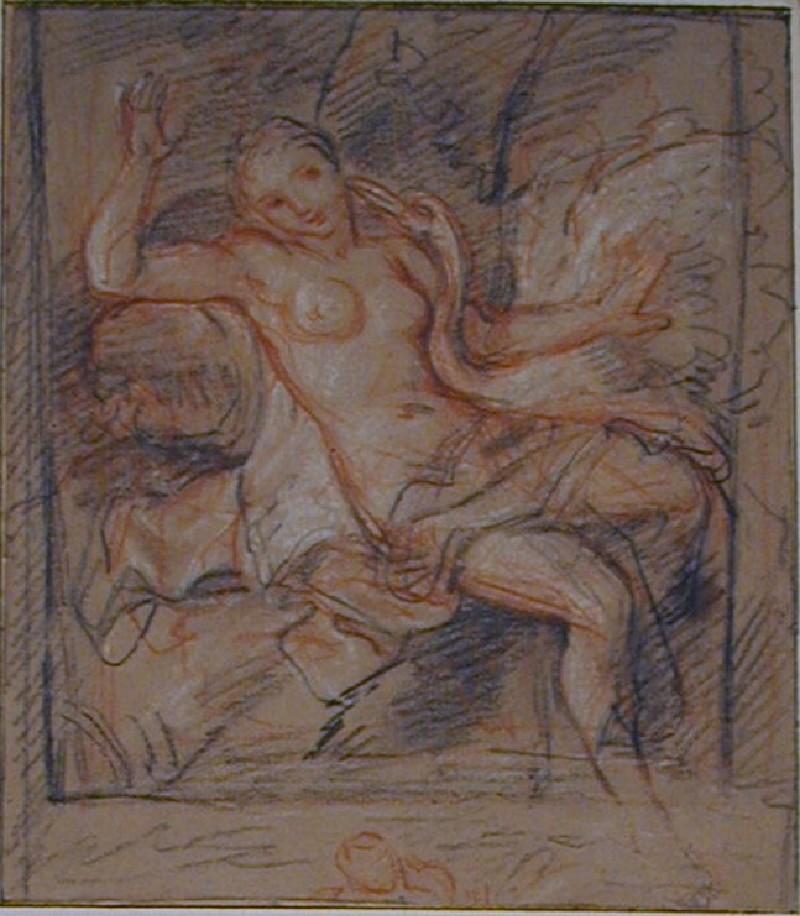 Leda and the swan (WA1949.263, record shot)