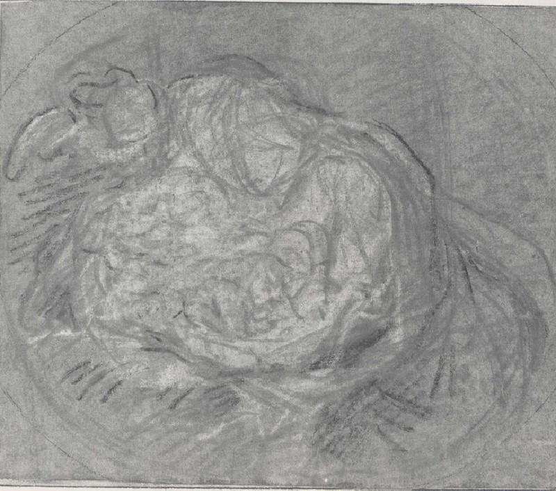 Study for a Composition of the Virgin and Child