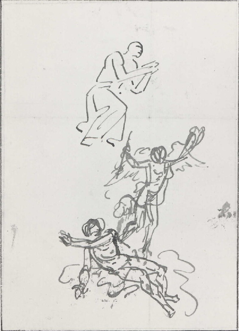 Studies of three Figures
