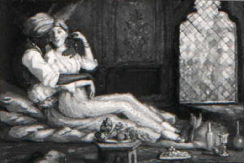 Arabian Night (Moorish Interior) (WA1949.354, record shot)