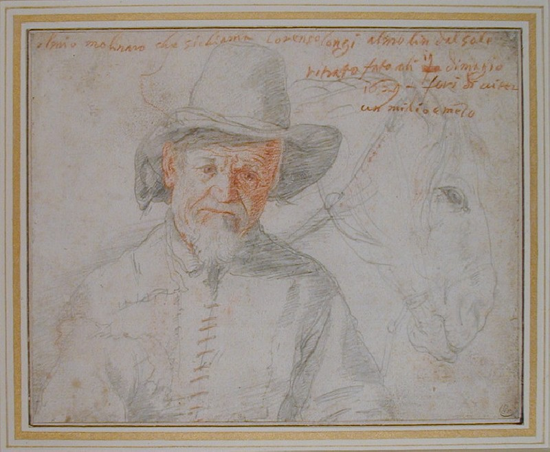 A Miller and his Horse (Lorenzo Longi)