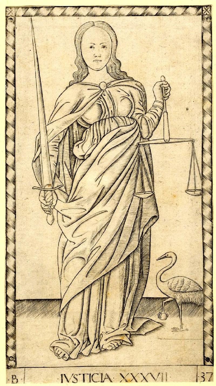 Justice (Ivsticia XXXVII) (WA1950.210.23, record shot)