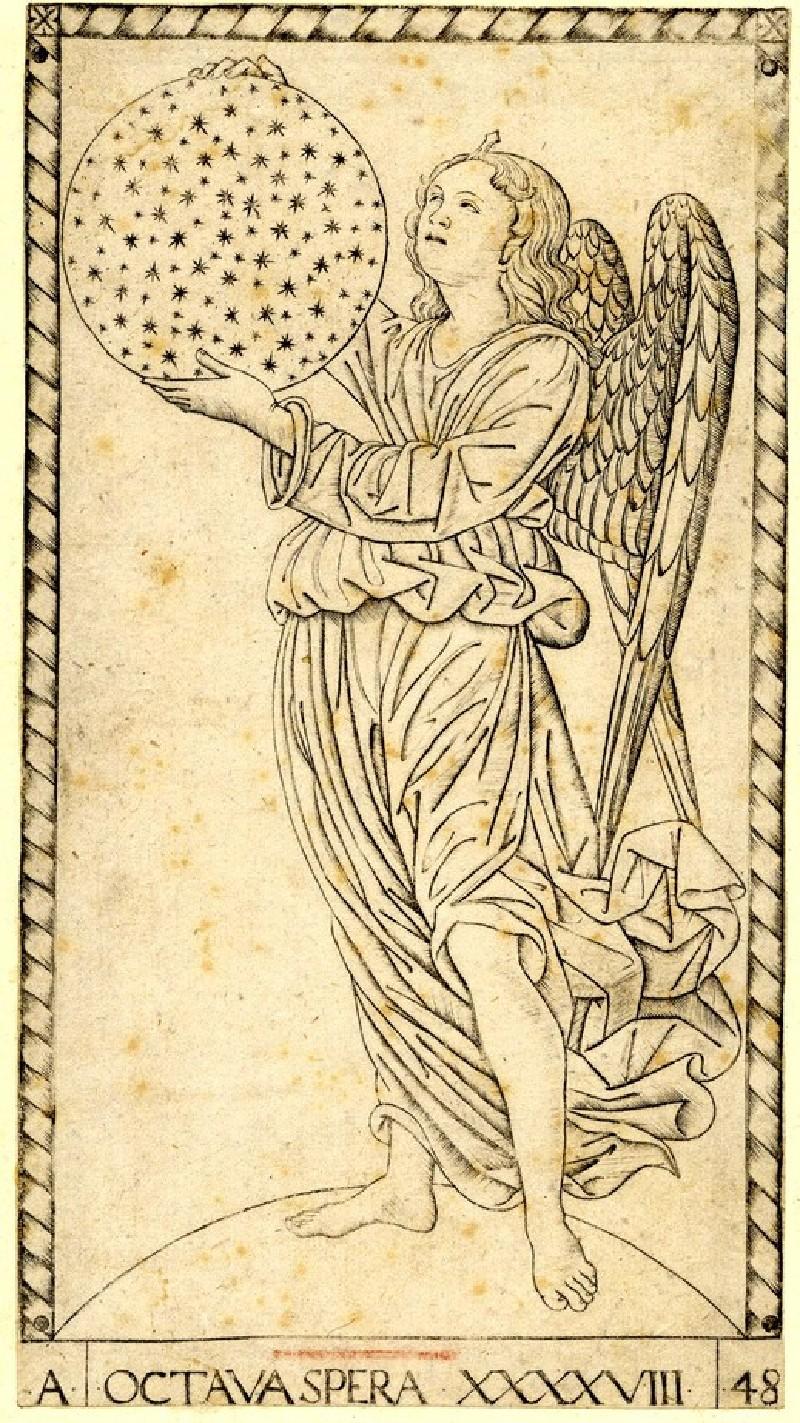 The Angel of the Eighth Sphere (Octava spera XXXXVIII) (WA1950.210.32, record shot)