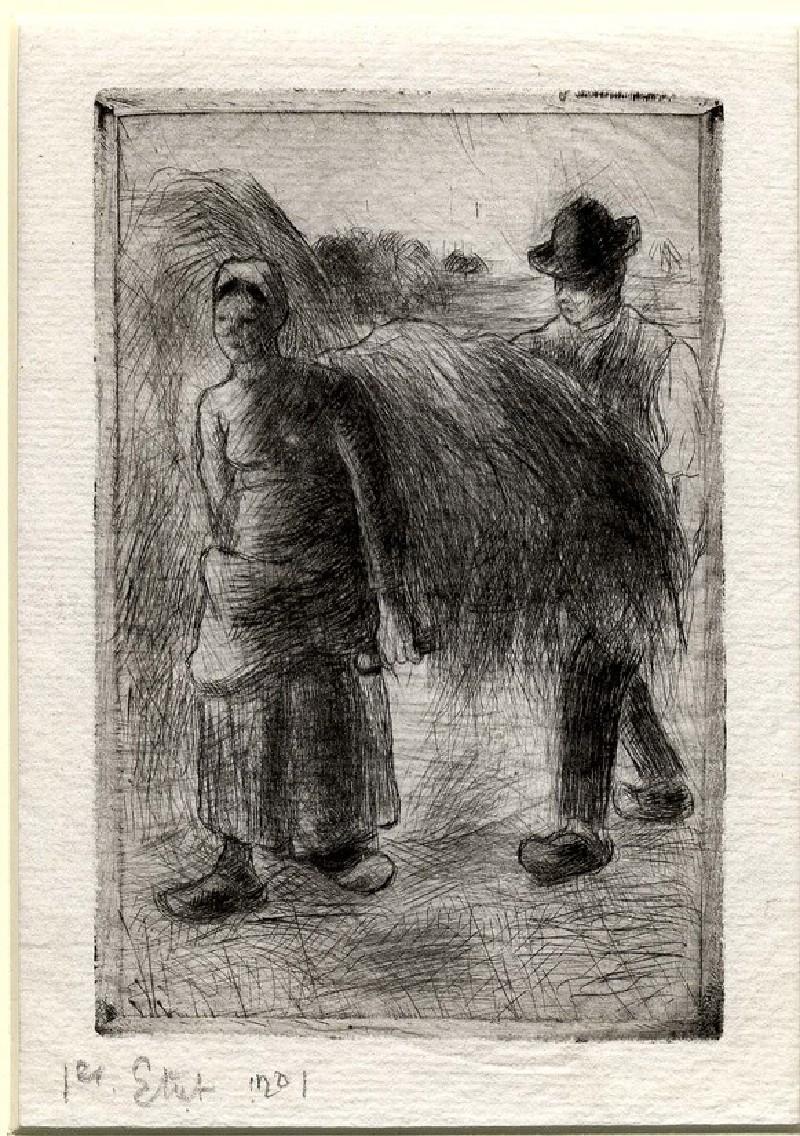 Paysans portant du Foin (WA1952.6.651, record shot)