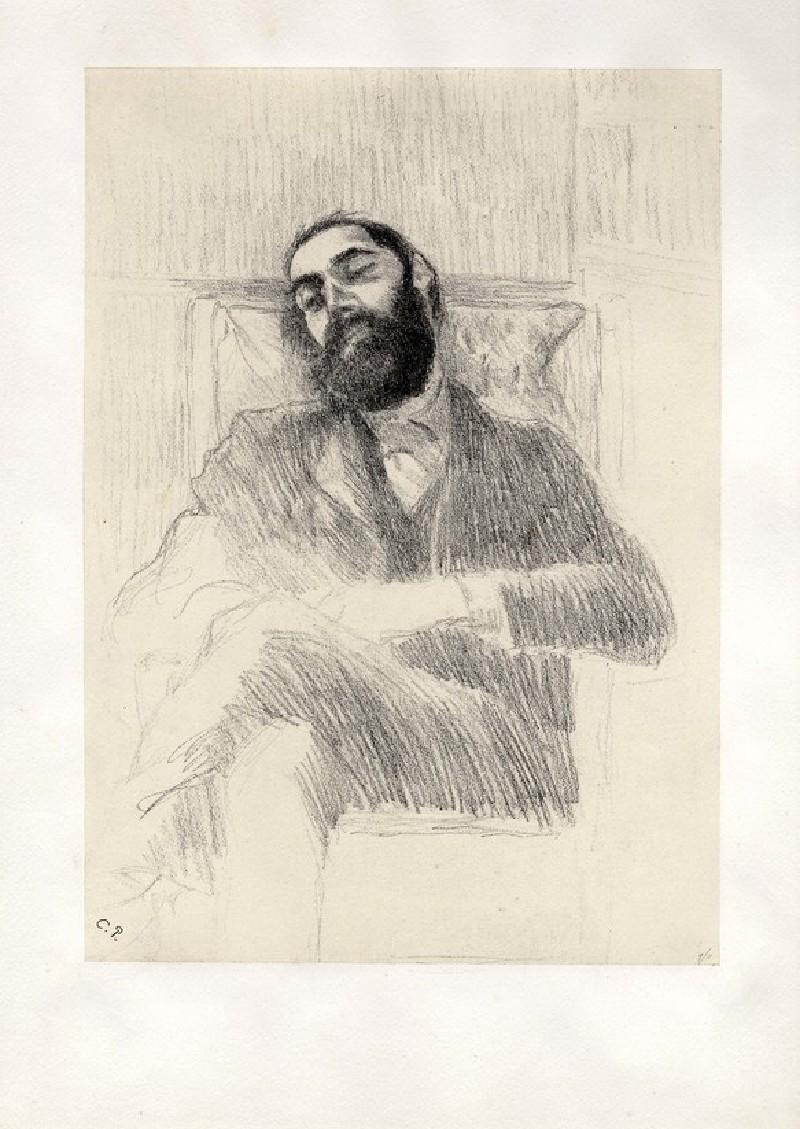 Convalescence (Lucien Pissarro) (WA1952.6.700, record shot)