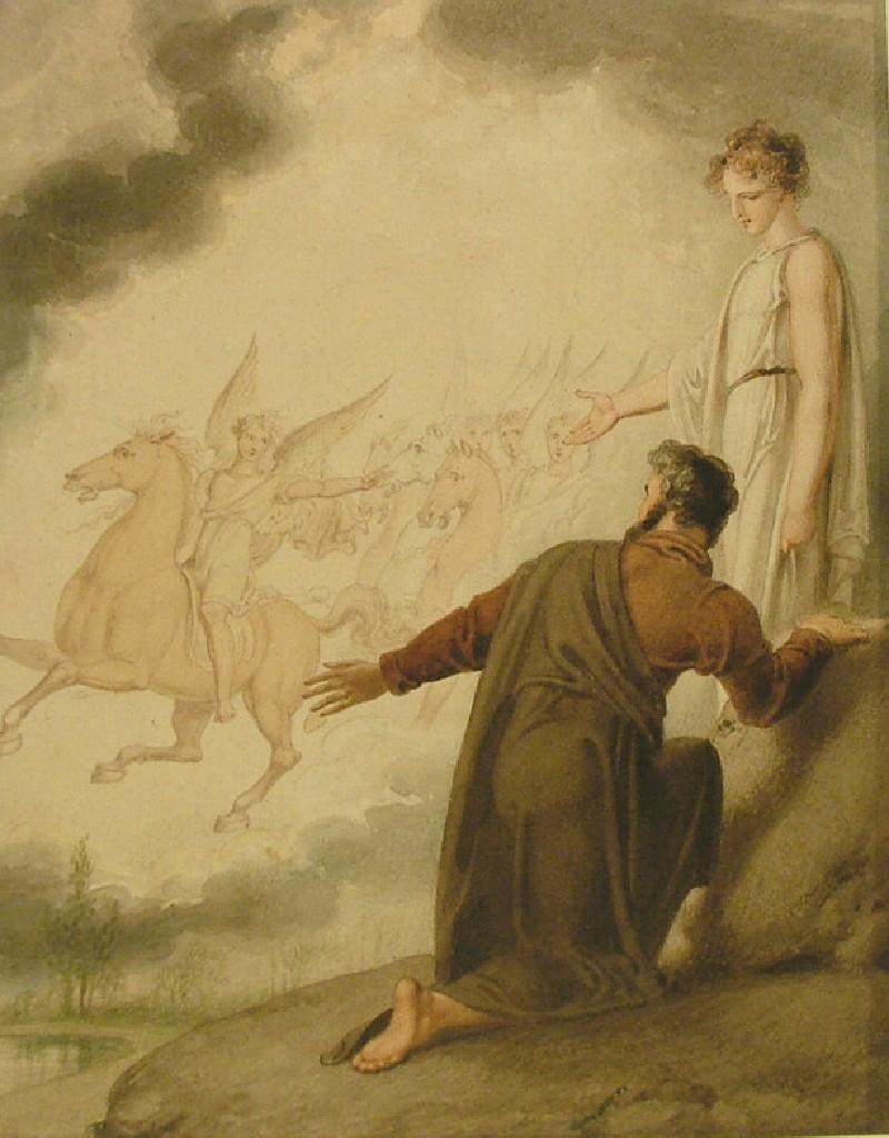Joshua and the Angel (WA1954.70.219, record shot)