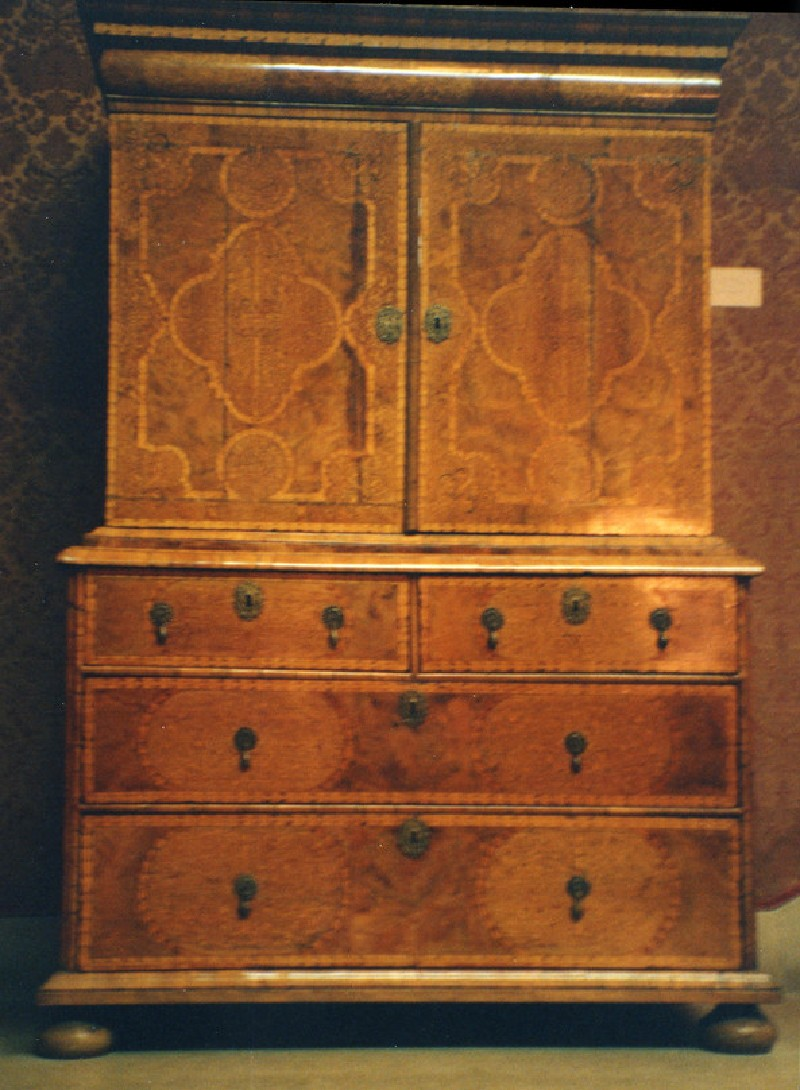 Cabinet on Chest of Drawers (WA1961.32.10, record shot)
