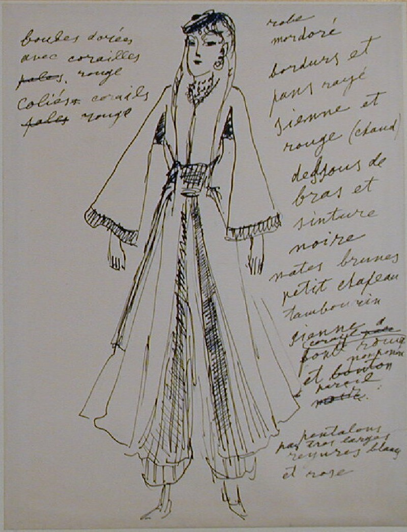 Design for a Ballet Costume