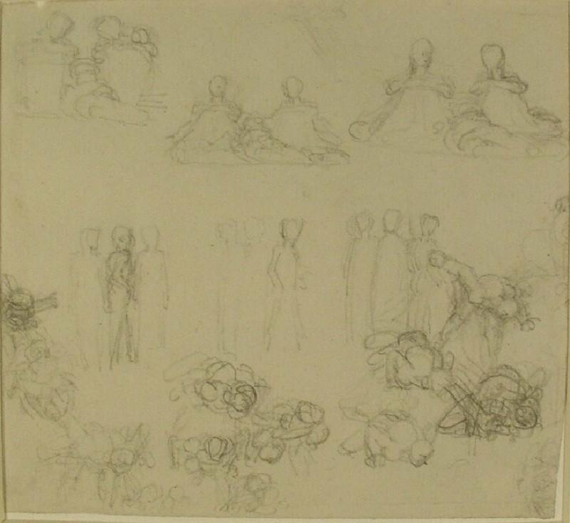 Figure studies (WA1969.33, record shot)