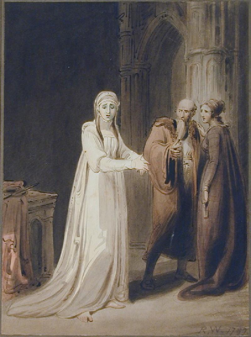 Lady Macbeth walking in her Sleep (WA1971.65, record shot)