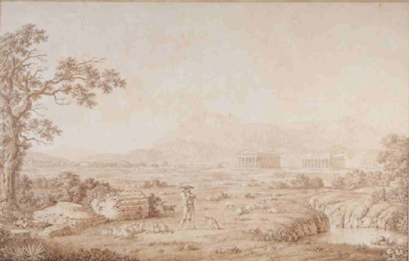 The Ruins of Paestum