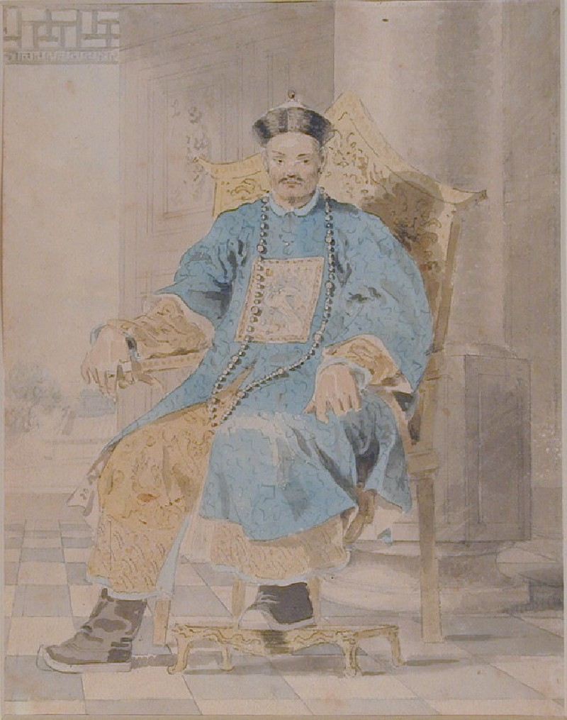 Portrait of Emperor Ch' ien-lung (WA1973.1, record shot)