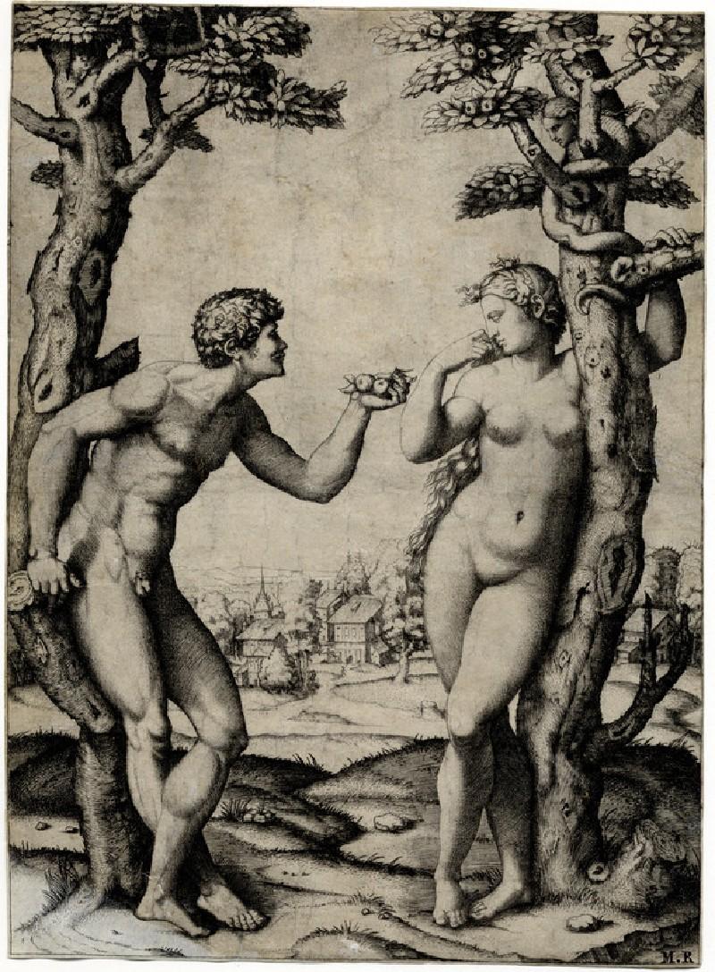 Adam and Eve (WA1973.28, record shot)