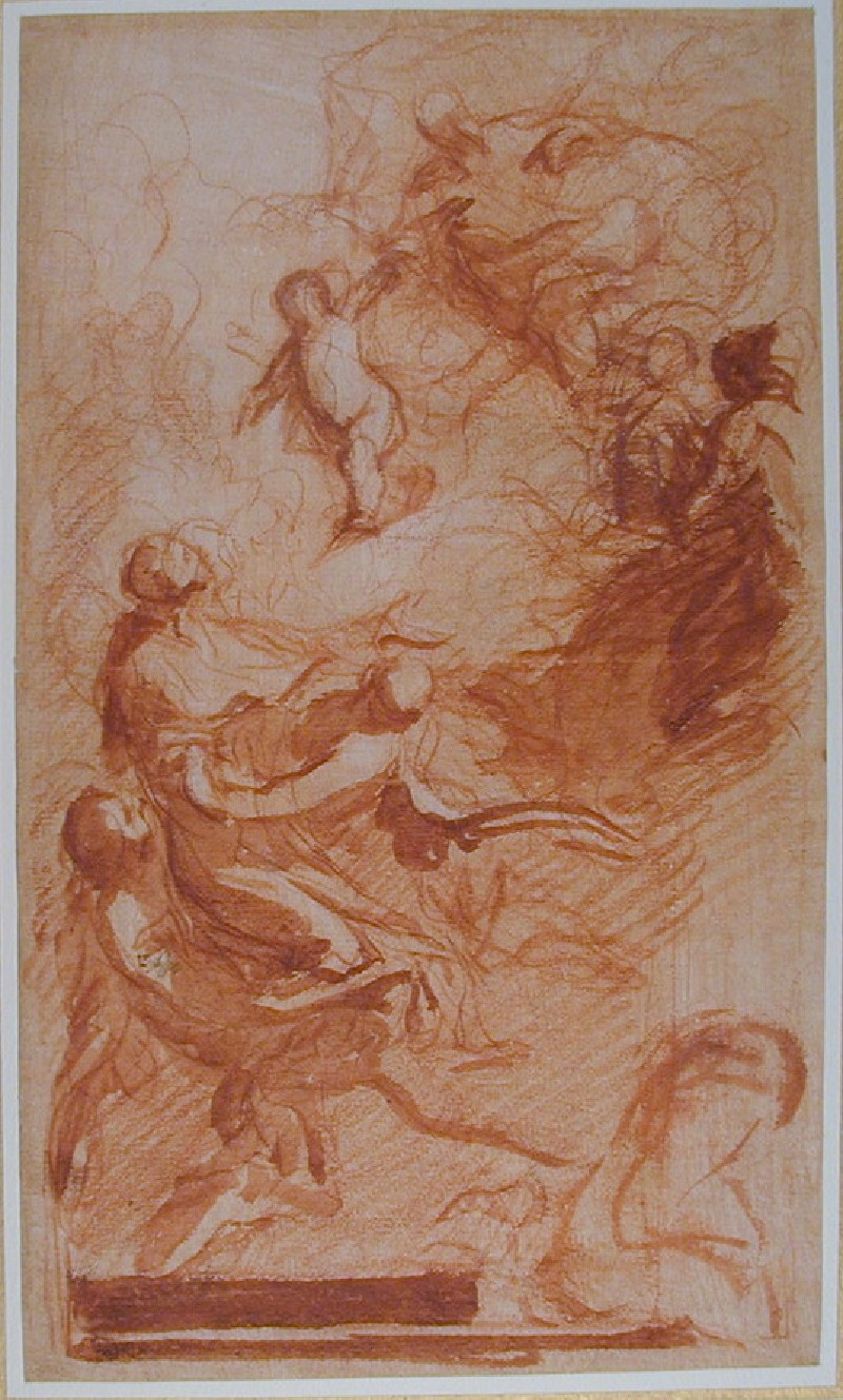 The Assumption of the Virgin, possibly Vision of Saint Anthony of Padua