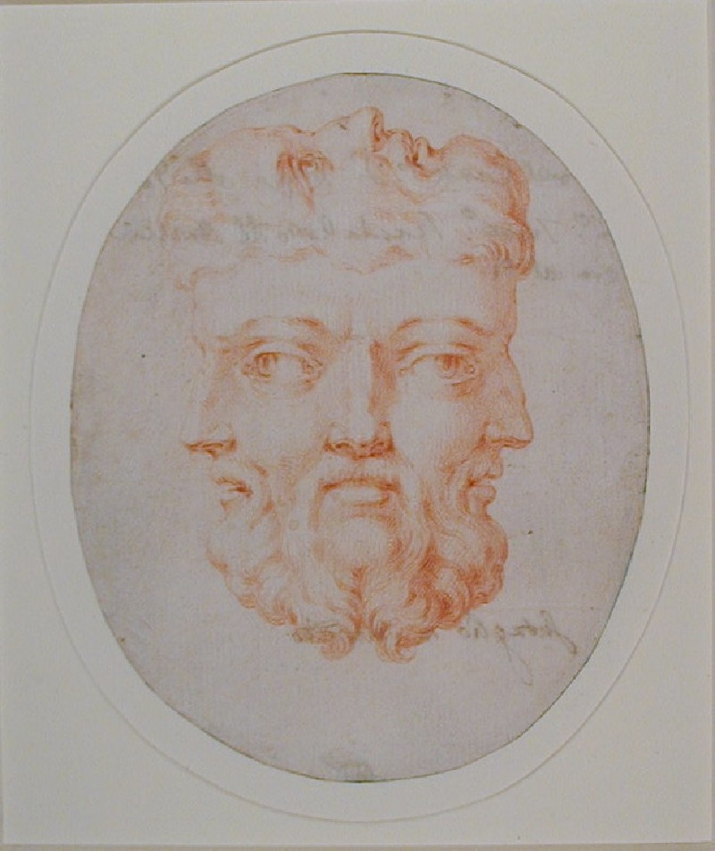 Copy, perhaps made from a Gem incorporating four coalesced bearded Male Faces