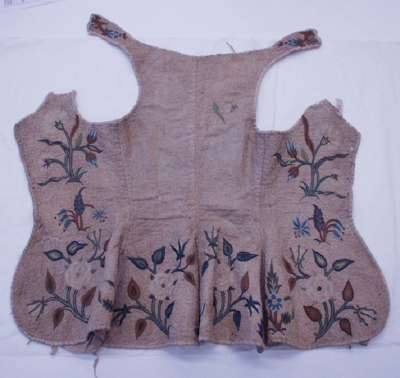 Woman's embroidered bodice