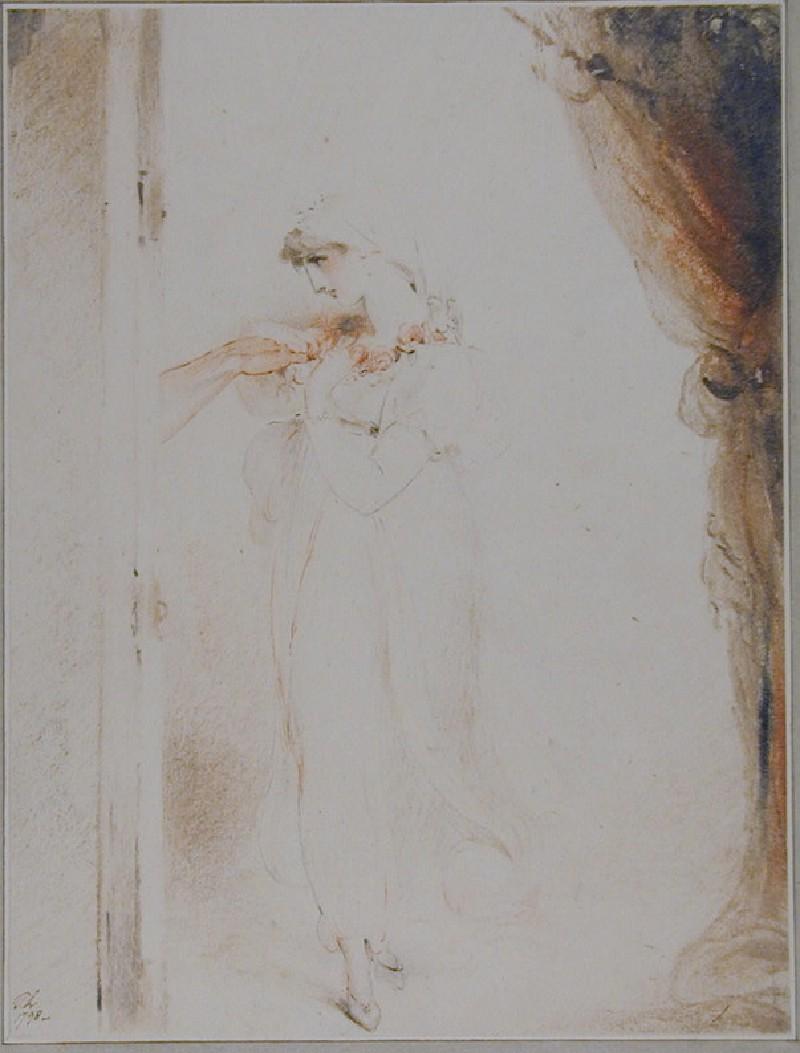 Study of a Girl (WA1991.386, record shot)