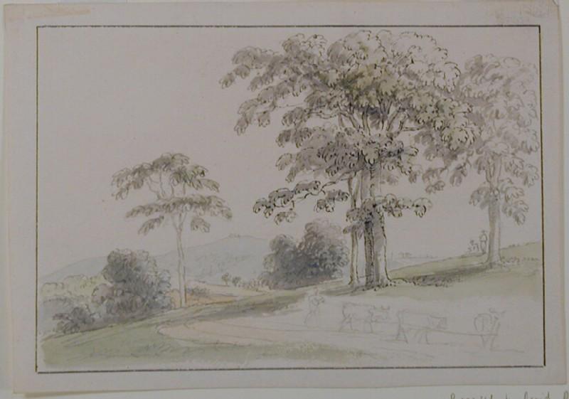 View at Wornish of St Marthas and Newland Corner (WA1996.433, record shot)