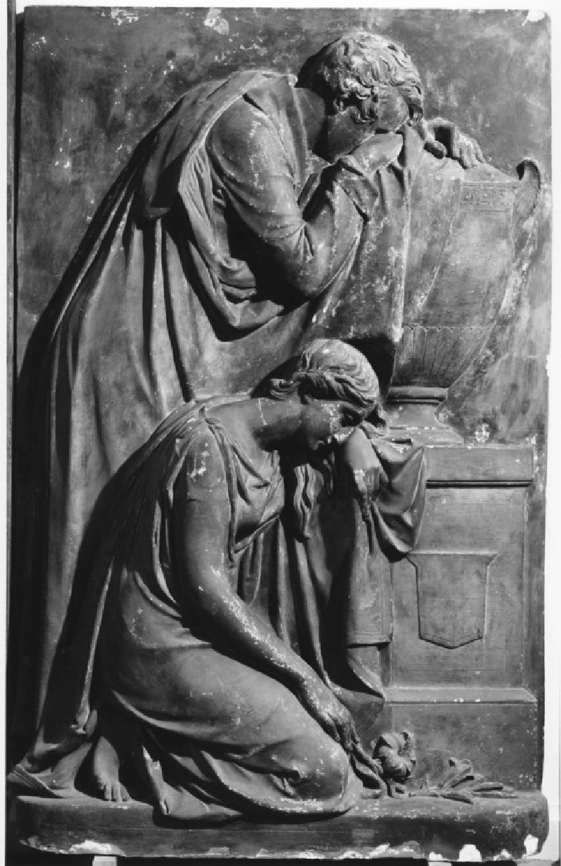 Relief monument to William Nicholson (d.1832) and family