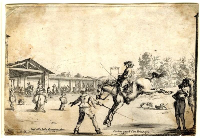 A riding school