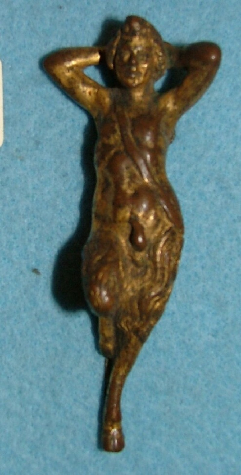 Ornamental foot in the form of a satyr (WA1889.CDEF.B418, record shot)