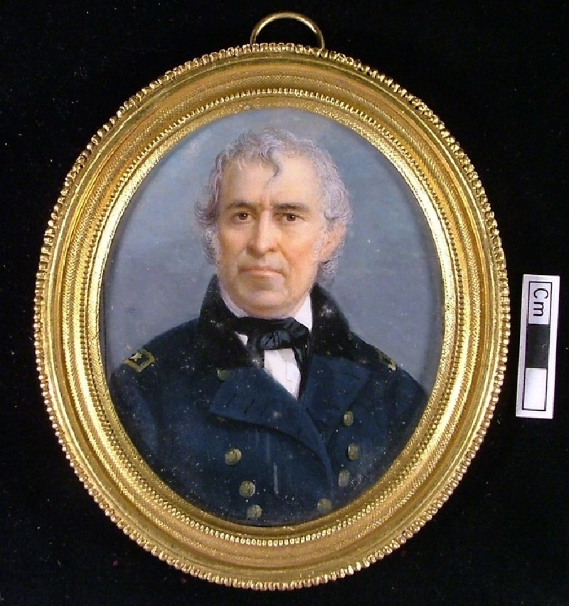 Portrait of Zachary Taylor, President of United States in 1849, previously thought to be Lord Duncan (WA1897.169, record shot)