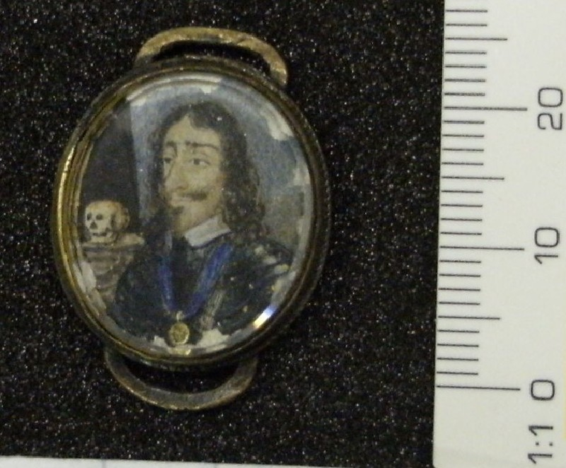 Memorial Portrait of King Charles I (WA1897.45, record shot)