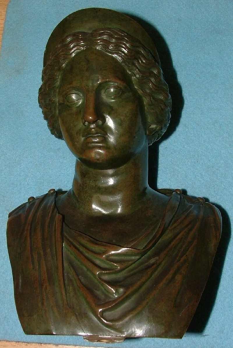 Bust of Juno (WA1899.CDEF.B406, record shot)