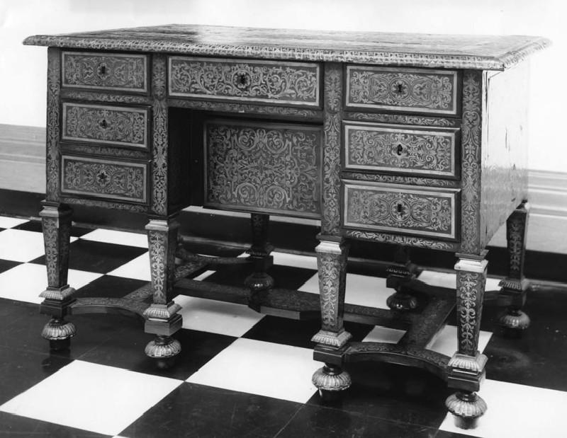 Boulle Writing Table (Bureau Mazarin) (WA1921.87, record shot)
