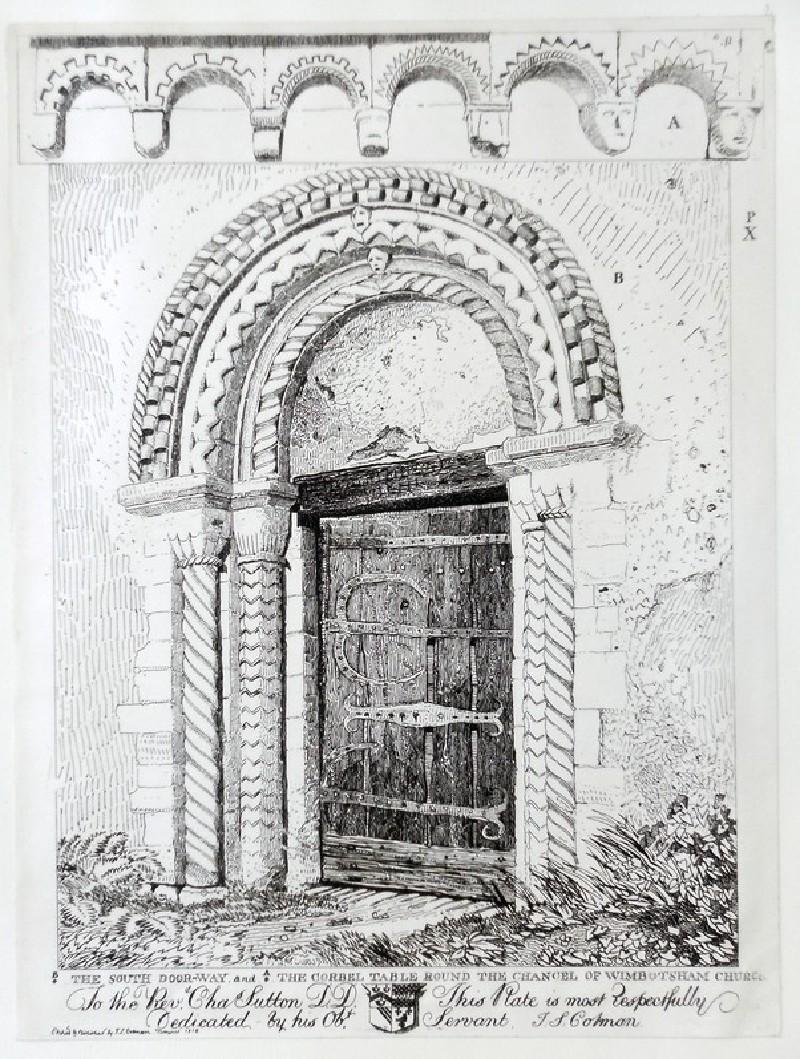 South Door of Wimbotsham Church (WA1922.6.3, WA_1922_6_3, record shot)