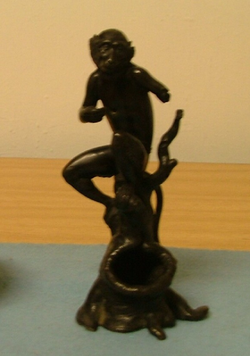 Figure of a monkey (WA1933.33, record shot)