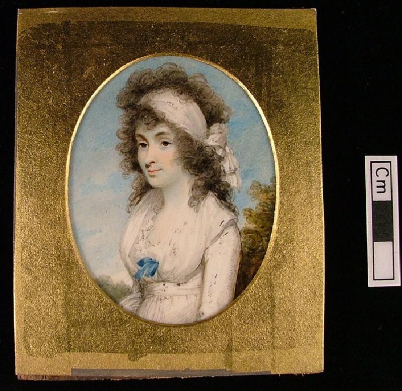 Portrait of Lydia or Elizabeth Blunt