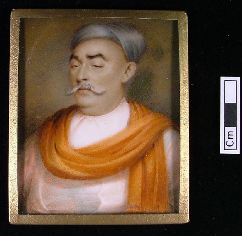 Portrait of Jimsettje Bonranjee of Bombay (Mumbai) (WA1945.65, record shot)