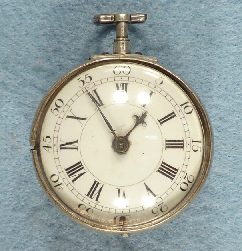 Silver repeating watch