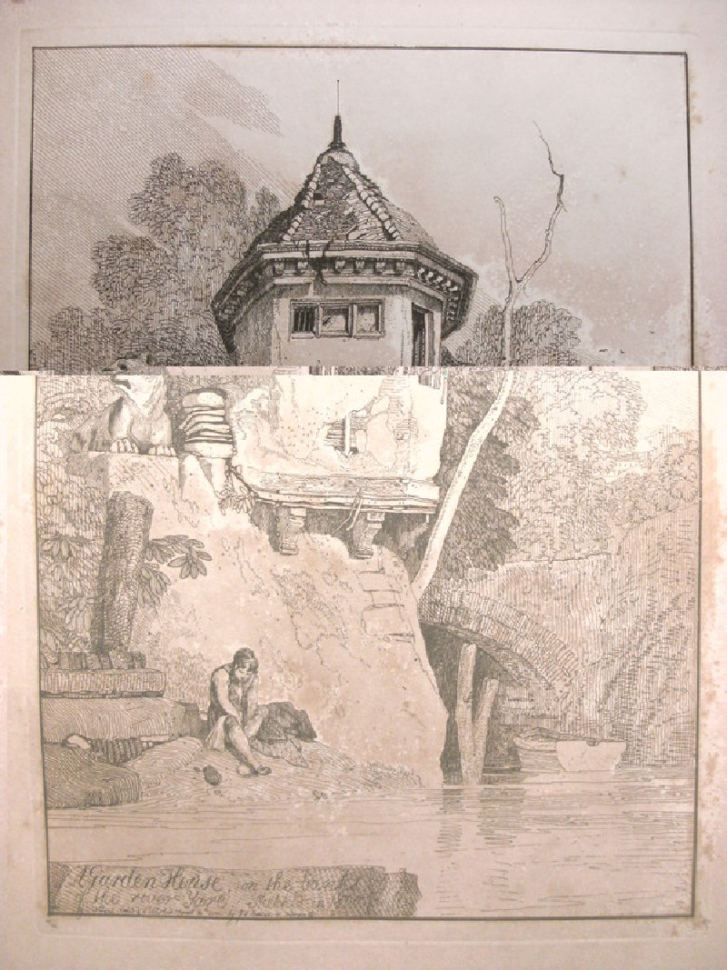 Garden House on the Banks of the River Ware