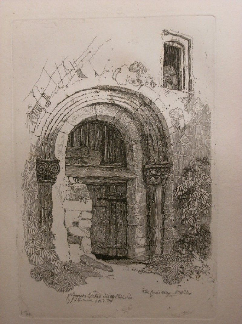 Vale Crucis Abbey, Wales (WA1989.66.4, record shot)