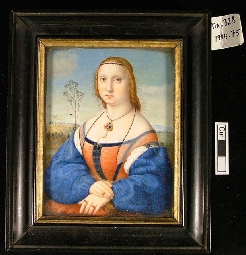 Maddalena Doni, after Raphael (WA1994.75, record shot)