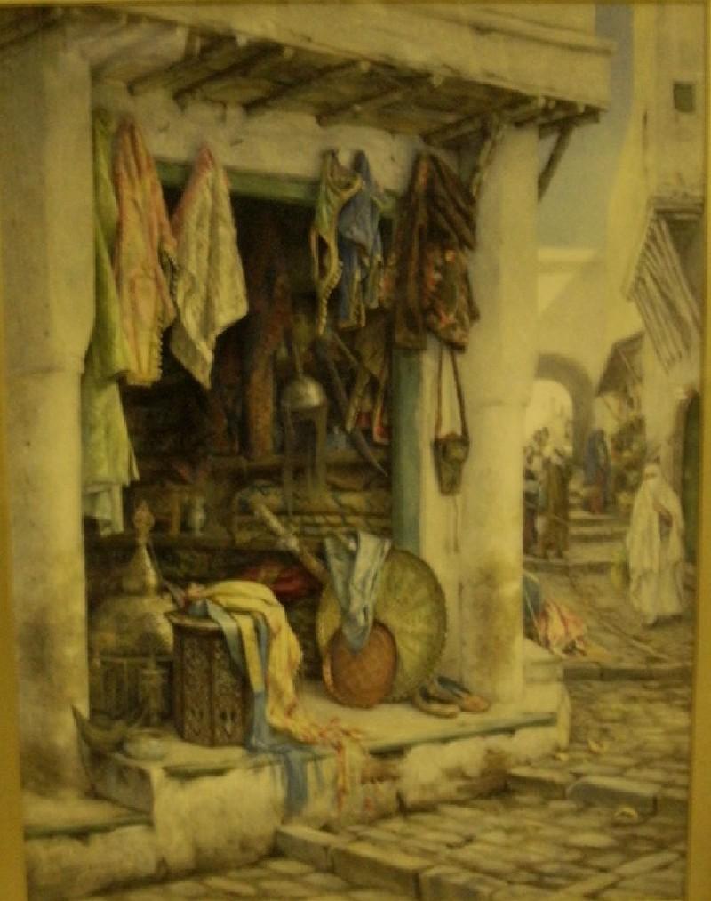 An Arab Shop, Algiers (WA.RS.WAL.19, record shot)