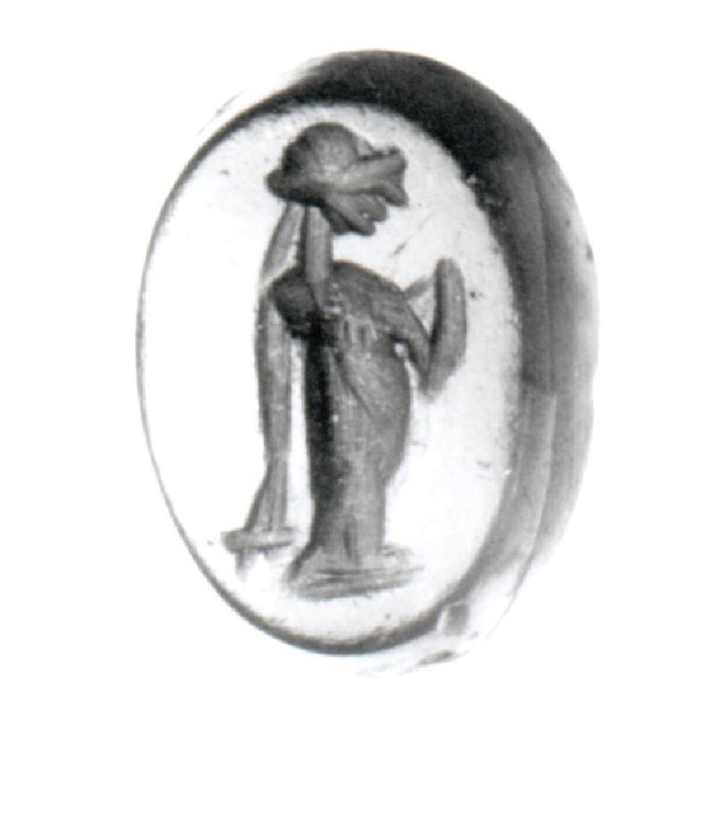 Intaglio gem, Demeter (AN1910.97.h, record shot)