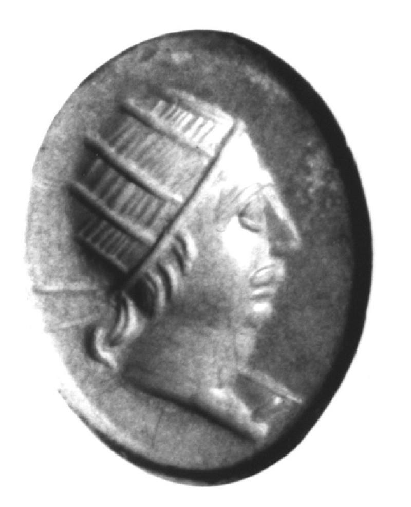 Intaglio gem, Helios (AN1941.640, record shot)
