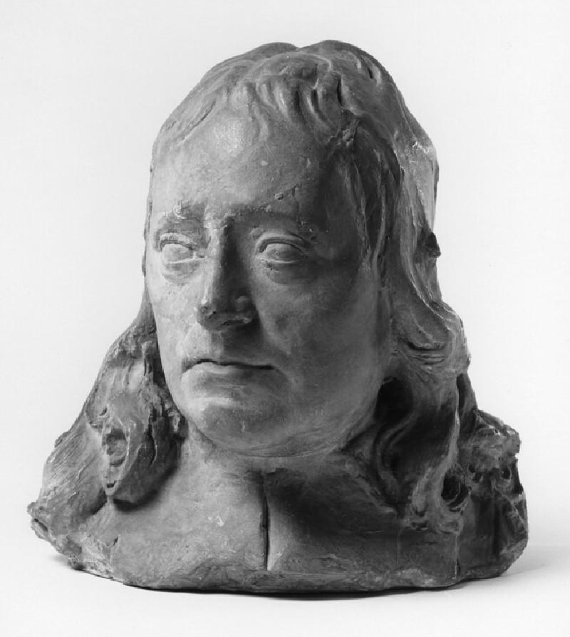 Portrait Head, probably of John Milton
