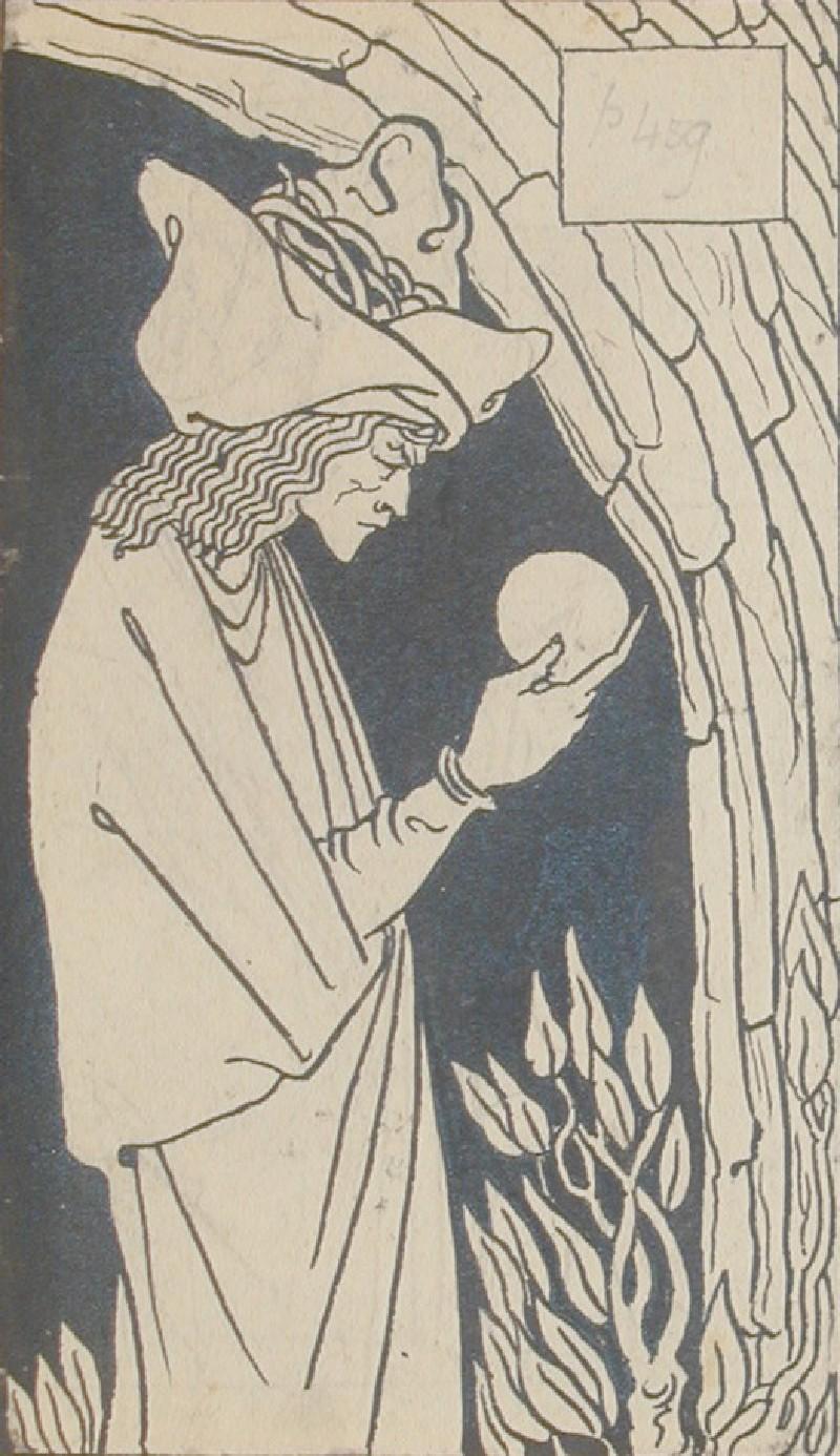 Merlin, for Malory's 'Morte d'Arthur' (WA1941.112, record shot)