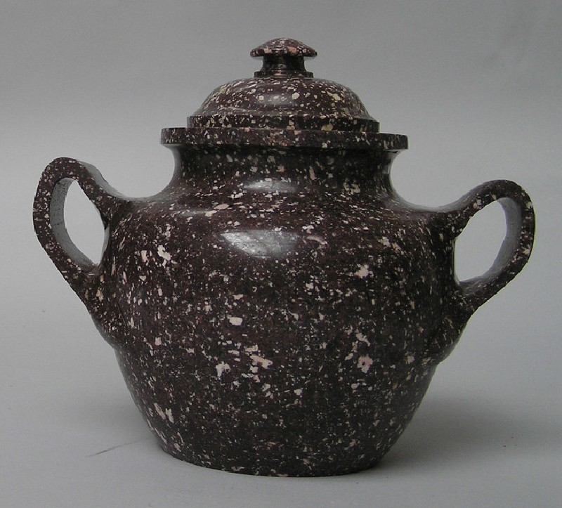 Egyptian porphyry urn, perhaps Roman
