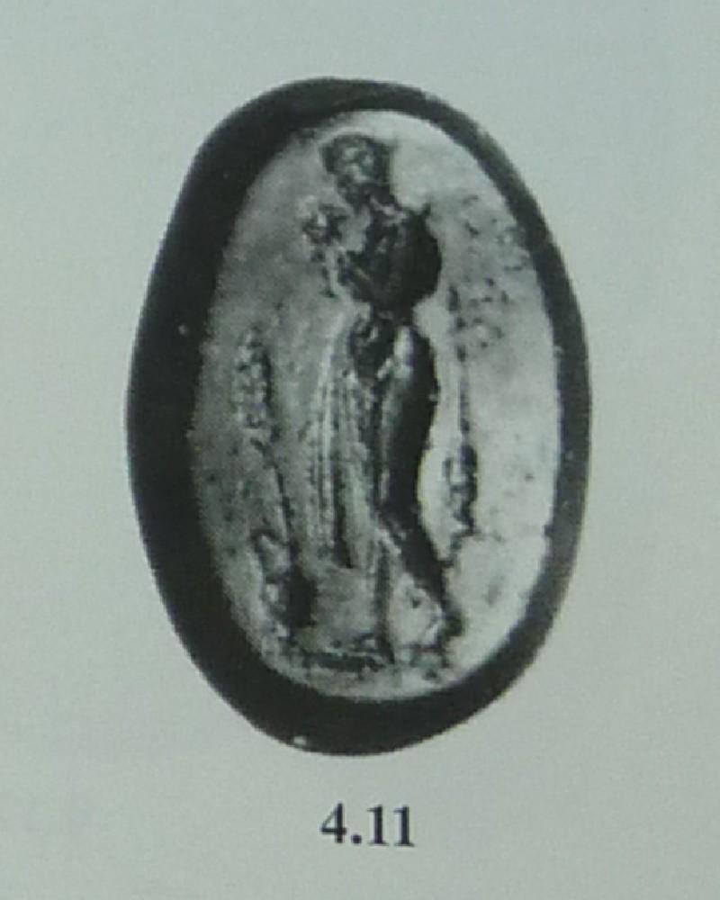 Intaglio gem, Methe (AN1888.470, AN.1888.470, record shot)