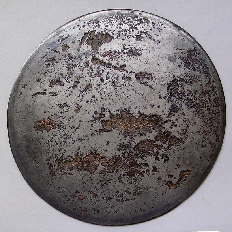 Bronze mirror, plain