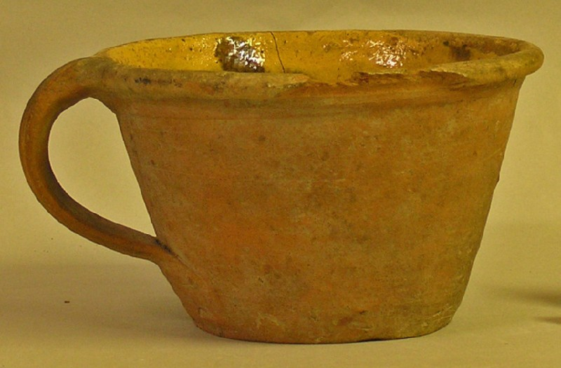 Brill type redware bowl